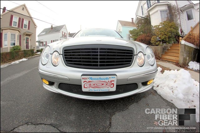 2004 E55 AMG Mercedes with DI-NOC grille