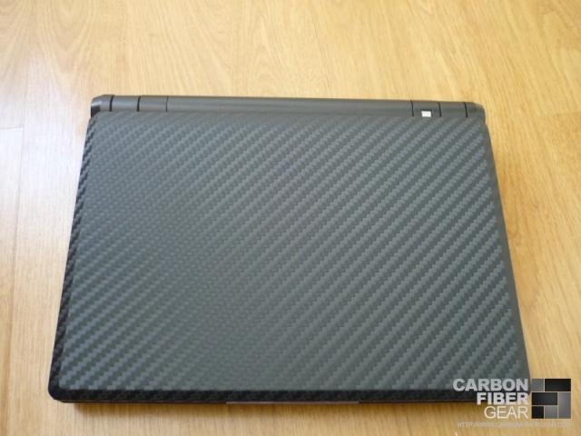 3M carbon fiber DI-NOC on Asus Eee PC 900A netbook