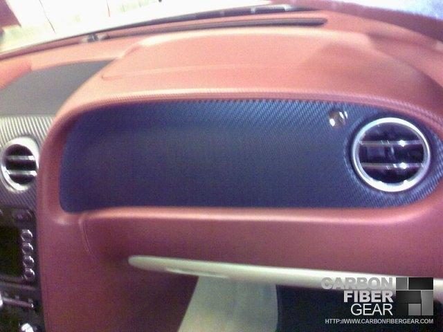 Bentley Continental GT gets carbon fiber DI-NOC interior