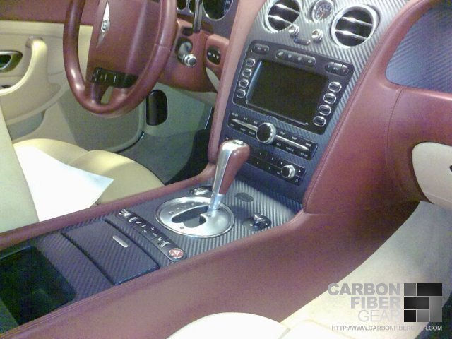 Bentley Continental GT gets carbon fiber DI-NOC interior
