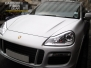 Porsche Cayenne Full White Carbon Fiber