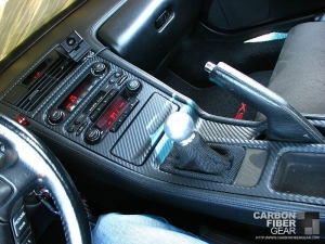 Acura NSX with 3M DI-NOC carbon fiber vinyl interior
