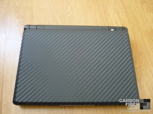 3M carbon fiber DI-NOC on Asus Eee PC 900A netbook