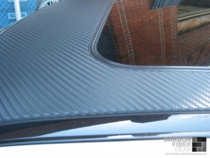 Baltimore Ravens BMW M5 with 3M DI-NOC carbon fiber roof