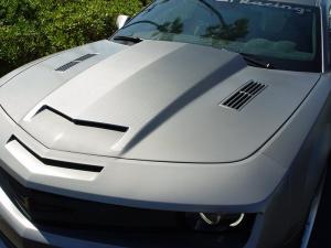 Camaro with DI-NOC carbon fiber vinyl