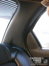 Dodge Neon SRT4 roof with carbon fiber DI-NOC on the back pillar
