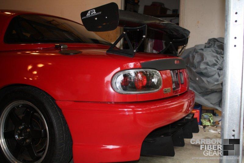 Modified Mazda Miata Gets Some Di Noc Carbon Fiber Film