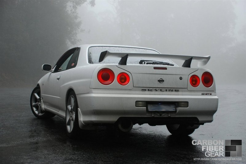 Australian R34 Gtt Nissan Skyline Adds Subtle Di Noc