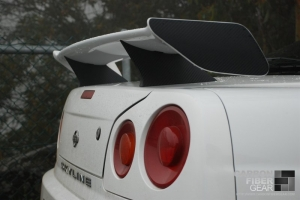 R34 GTT Skyline with 3M carbon fiber DI-NOC
