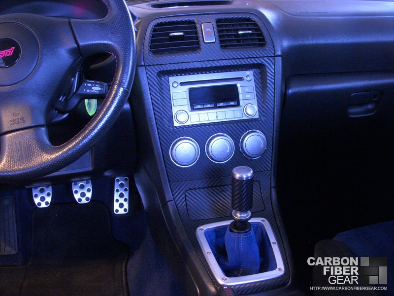 subaru sti interior updated with carbon fiber vinyl carbon fiber film. Black Bedroom Furniture Sets. Home Design Ideas